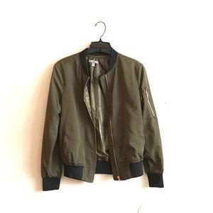 🎉TAKE 50% OFF!🎉 Olive Green Bomber Jacket